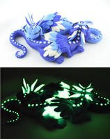 Sleeping Dragons by claymeeples