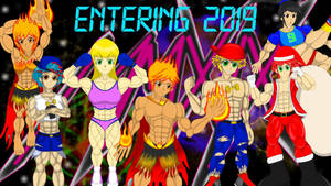 Entering a New Year of Muscles (2019) by FireShock10