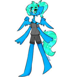 new style OwO by blueheart12345