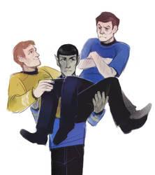 Triumvirate by Kessavel-art