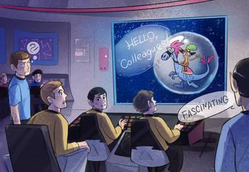 Wander meets Enterprise by Kessavel-art