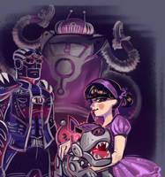 Purple by Kessavel-art