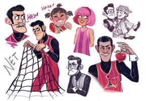 Robbie doodles by Kessavel-art