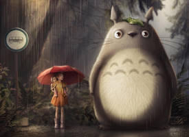 Totoro by AllaD8