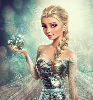 Frozen (Elsa) by AllaD8