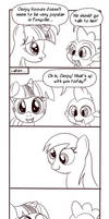 Derpy Hooves comic by Dunkinbean