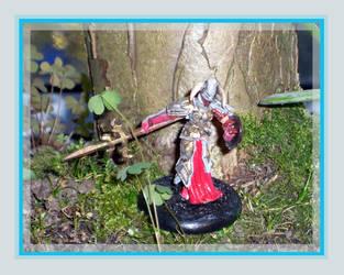 Iron Kingdoms - Umbral Warrior by kleinerewoelfin