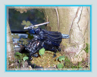 LotR - Dark Rider 01 by kleinerewoelfin