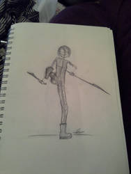 Sketch 1 by crownednene