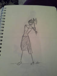 Sketch 2 by crownednene