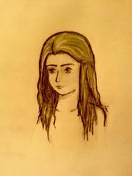 Friend-Inspired Portrait by crownednene