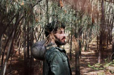 la solitude du soldat III by Hidden-target