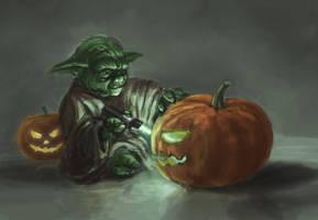 Yoda's Halloween by Entar0178