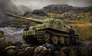 Tiger Tank by Entar0178