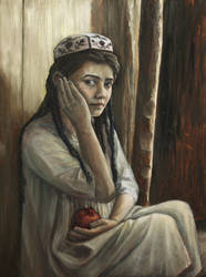 Girl With A Pomegranate by Entar0178