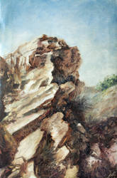 The Music Of Rock Oil Painting by Entar0178