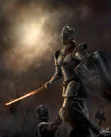 Fantasy Knight Video Tutorial by Entar0178