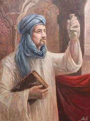 The Alchemist Portrait by Entar0178