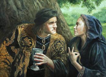 Edward IV and Elizabeth Woodville by Entar0178