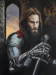 Knight Portrait by Entar0178