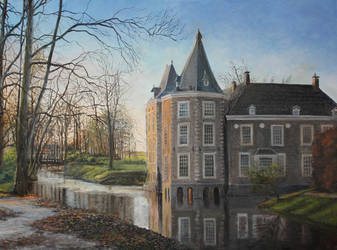 Castle Oil Painting by Entar0178