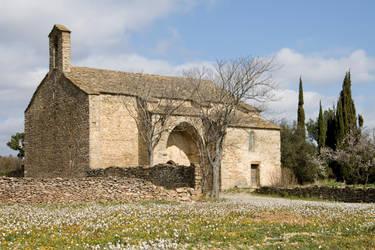Notre-Dame de Centeilles 3093 by Jaded-Paladin