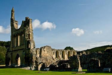 Byland Abbey - 5214 by Jaded-Paladin