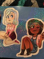 Sticker sheet by LazyArt3