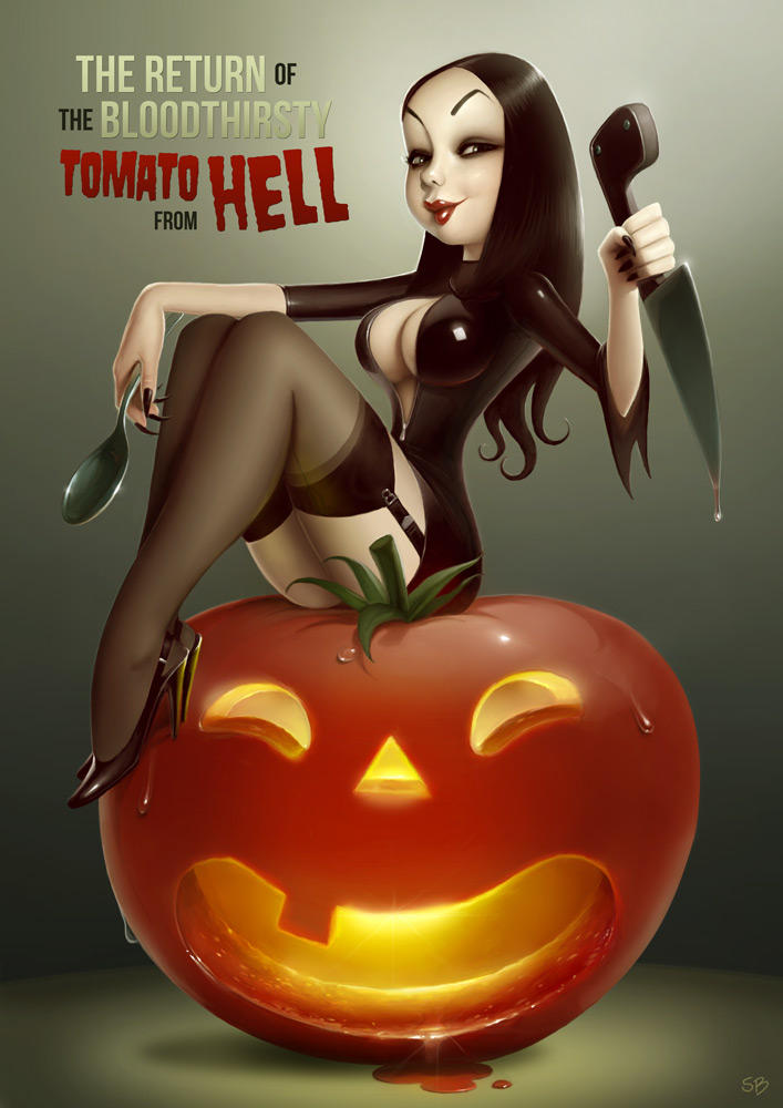 Tomato from hell by PapaNinja