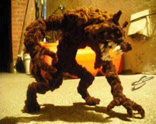 Werewolf in the Alley by Leo-tux
