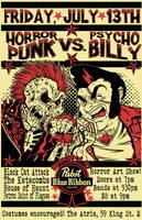 Horrorpunk VS. Psychobilly Poster by FiendishDesign