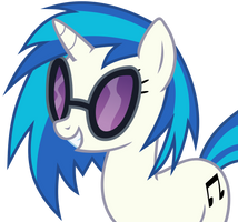 Vinyl Scratch by The-Smiling-Pony