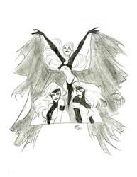 Jean Grey Commission by haylzherrick