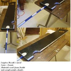 Suigetsu Hozuki Sword - Finish by naturally-morbid