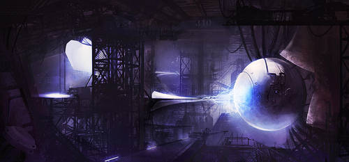 ' Anti-matter Power Reactor' by epson361