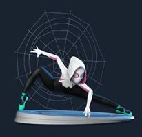 Spider-Gwen (Fan art) by nlsinh