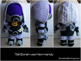 Tali'Zorah vas Normandy by GamerKirei