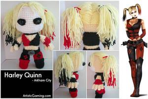 Harley Quinn - Arkham City by GamerKirei