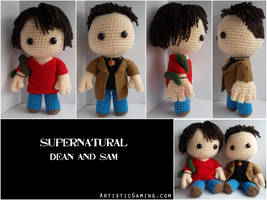 Dean and Sam - Supernatural by GamerKirei