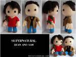 Dean and Sam - Supernatural by GamerKirei
