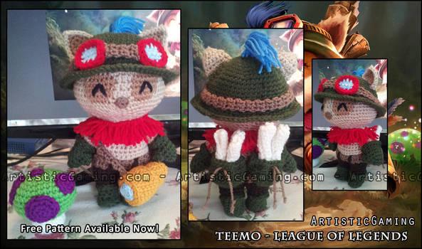 Teemo - League of Legends - Free Pattern ! by GamerKirei