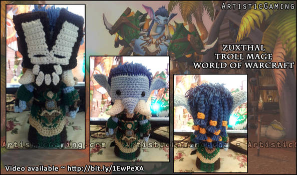 World of Warcraft - Troll Mage - Video available! by GamerKirei