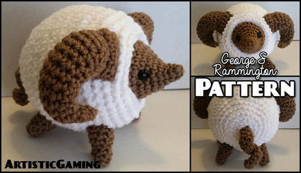 Fluffy Ram - Crochet Pattern by GamerKirei