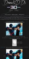 Monochrome 3D Tutorial by DramaSama