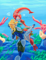 Doodle - Zora's Waltz by SpottedAlienMonster