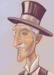 Steampunk project: Mr Snow by ArcadiaRonin