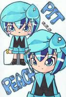 Miki in Chibi by pokediged