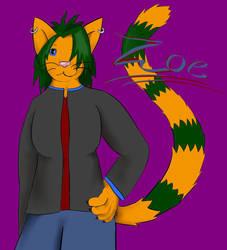 Zoe - Request by Ki-wolf