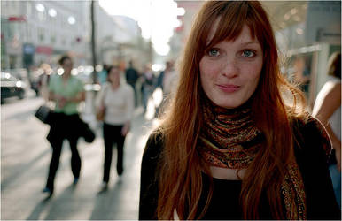 a rumanian girl by zort