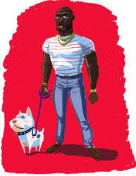 Dude N Dog by rustypixel